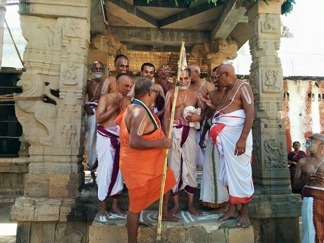 HH 46th Srimath Azhagiyasingar Mangalasasanam At Lower Ahobilam Sri Prahaladavardan Temple17