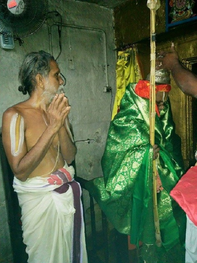 HH 46th Srimath Azhagiyasingar Mangalasasanam At Lower Ahobilam Sri Prahaladavardan Temple18