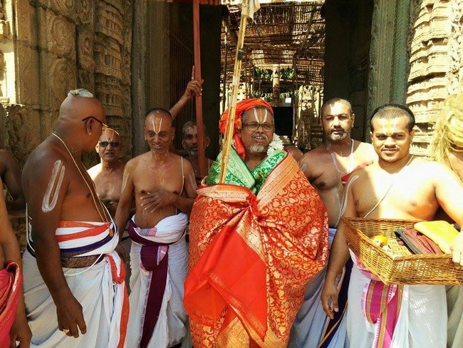 HH 46th Srimath Azhagiyasingar Mangalasasanam At Lower Ahobilam Sri Prahaladavardan Temple19