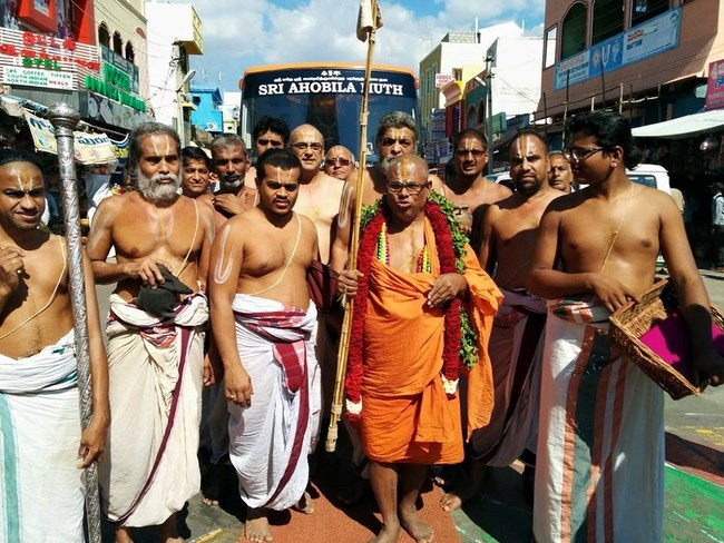 HH 46th Srimath Azhagiyasingar Mangalasasanam At Thiruchanoor Sri Padmavathi Thayar Temple10