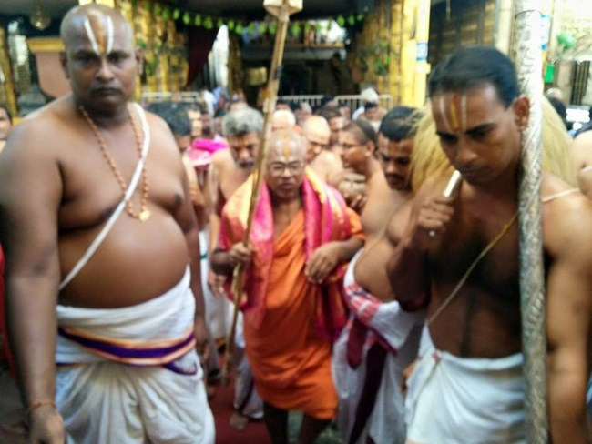HH 46th Srimath Azhagiyasingar Mangalasasanam At Thiruchanoor Sri Padmavathi Thayar Temple12