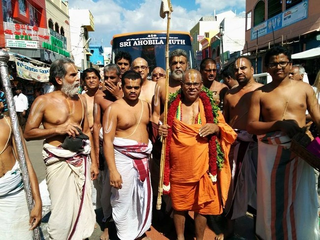 HH 46th Srimath Azhagiyasingar Mangalasasanam At Thiruchanoor Sri Padmavathi Thayar Temple13