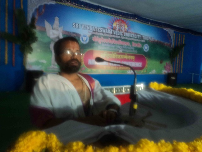 Tirupati veda Vedanga and Shastra Conference in sanskrit-2015-25