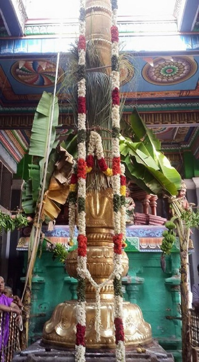 Thiruvinnagar Sri Oppilliappan Venkatachalapathi Temple Panguni Brahmotsavam Commences1