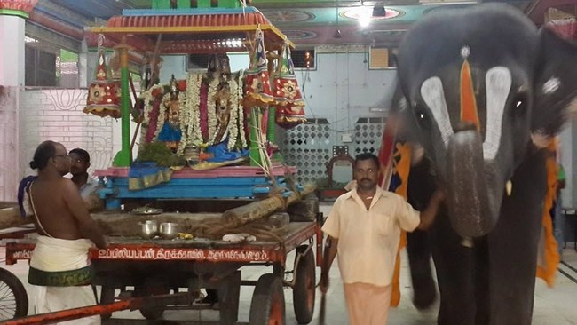 Thiruvinnagar Sri Oppilliappan Venkatachalapathi Temple Panguni Brahmotsavam Commences10