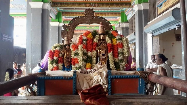 Thiruvinnagar Sri Oppilliappan Venkatachalapathi Temple Panguni Brahmotsavam Commences13