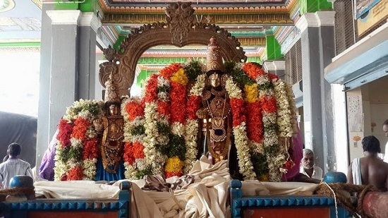 Thiruvinnagar Sri Oppilliappan Venkatachalapathi Temple Panguni Brahmotsavam Commences14