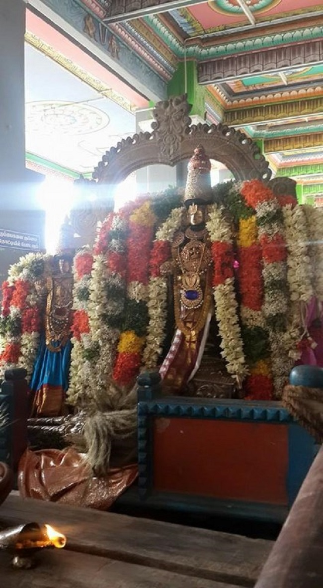 Thiruvinnagar Sri Oppilliappan Venkatachalapathi Temple Panguni Brahmotsavam Commences16