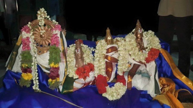 Thiruvinnagar Sri Oppilliappan Venkatachalapathi Temple Panguni Brahmotsavam Commences24