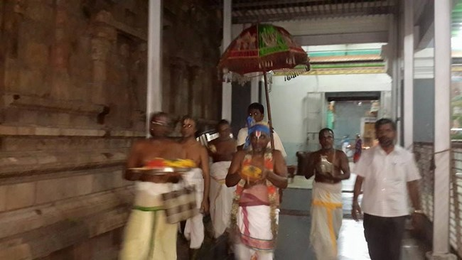 Thiruvinnagar Sri Oppilliappan Venkatachalapathi Temple Panguni Brahmotsavam Commences5