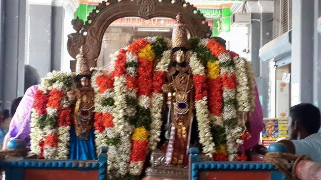 Thiruvinnagar Sri Oppilliappan Venkatachalapathi Temple Panguni Brahmotsavam Commences6