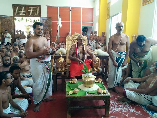 HH 46th Srimad Azhagiyasingar 7th Chaturmasya Sankalpam at Kalyanapuram 2015 05