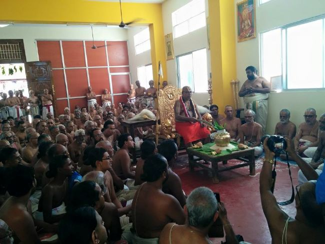 HH 46th Srimad Azhagiyasingar 7th Chaturmasya Sankalpam at Kalyanapuram 2015 09