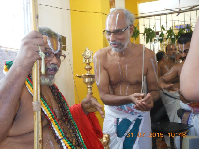 HH 46th Srimad Azhagiyasingar 7th Chaturmasya Sankalpam at Kalyanapuram 2015 45