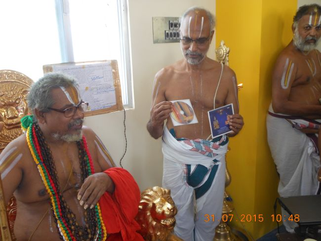 HH 46th Srimad Azhagiyasingar 7th Chaturmasya Sankalpam at Kalyanapuram 2015 46