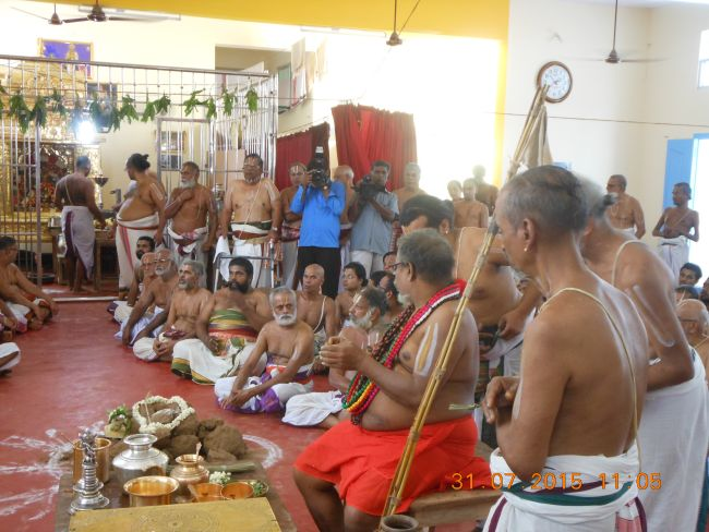 HH 46th Srimad Azhagiyasingar 7th Chaturmasya Sankalpam at Kalyanapuram 2015 48