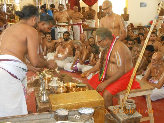 HH 46th Srimad Azhagiyasingar 7th Chaturmasya Sankalpam at Kalyanapuram 2015 52