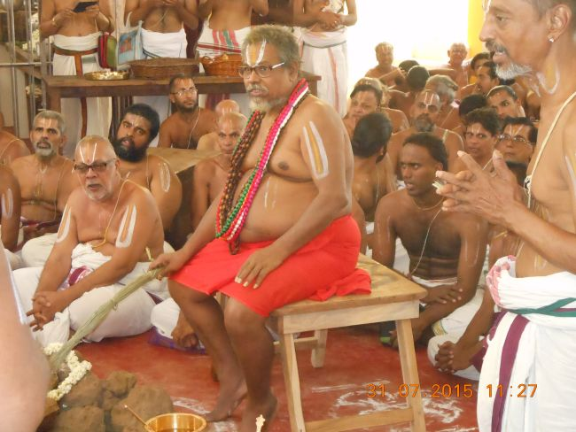 HH 46th Srimad Azhagiyasingar 7th Chaturmasya Sankalpam at Kalyanapuram 2015 53