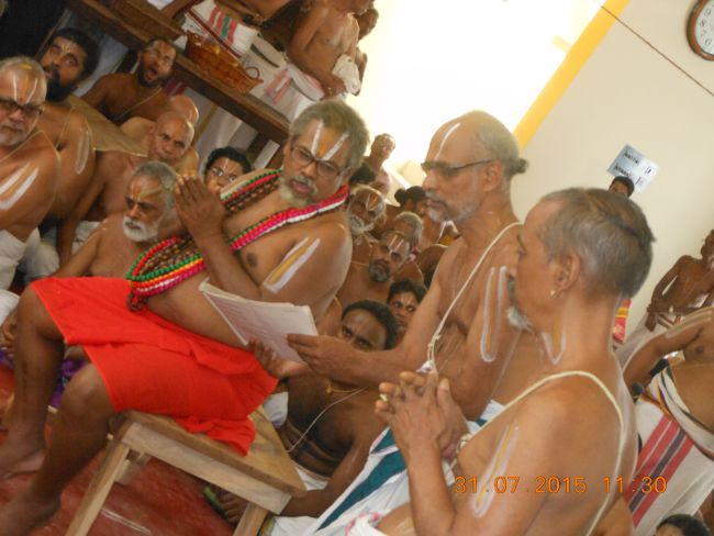 HH 46th Srimad Azhagiyasingar 7th Chaturmasya Sankalpam at Kalyanapuram 2015 54