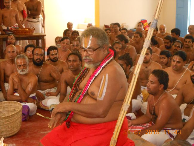 HH 46th Srimad Azhagiyasingar 7th Chaturmasya Sankalpam at Kalyanapuram 2015 56