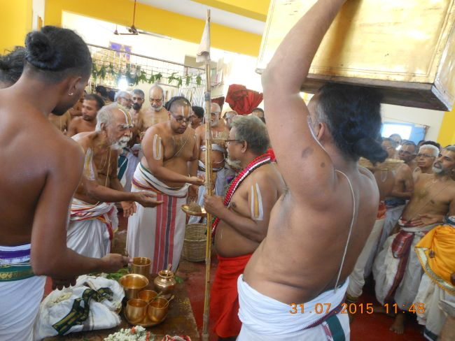HH 46th Srimad Azhagiyasingar 7th Chaturmasya Sankalpam at Kalyanapuram 2015 57