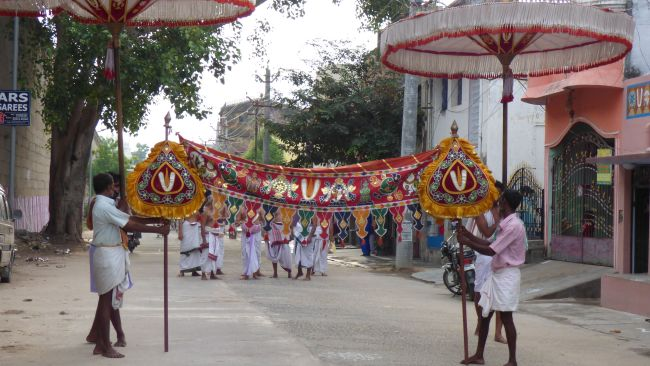 Thoopul  Swami desikan Thirunakshatra Utsavam day 6 Morning 2015 01