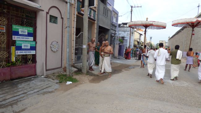Thoopul  Swami desikan Thirunakshatra Utsavam day 6 Morning 2015 11