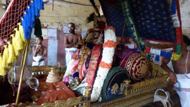 Thoopul  Swami desikan Thirunakshatra Utsavam day 6 Morning 2015 17